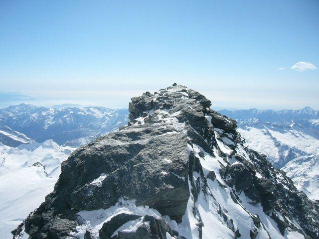 leichteviertausender in den alpen